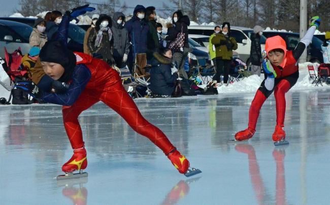 池田 町リンク納め兼町民スケート大会