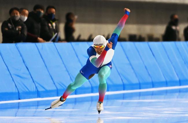 村上34秒67好タイム、郷は2種目トップ スケート強化部総合競技会