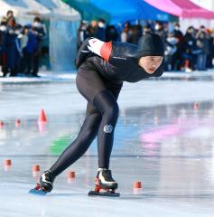 【6年女子】小原唯奈(大正少年団)は2種目首位で優勝を果たした