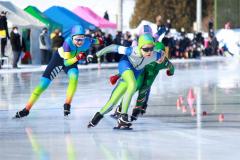 5年女子選手の滑り