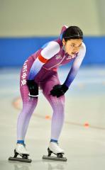 【女子3000メートル】2位に入賞した山形中央の高橋美生(士幌中央中出)