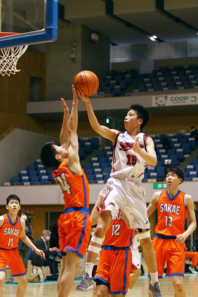 白樺学園男子3冠へまず1冠、山田MVP活躍 全道高校バスケ新人大会