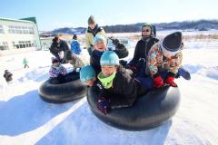 勇足小で冬を楽しむ体験授業 本別 2