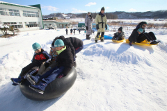 勇足小で冬を楽しむ体験授業 本別 3