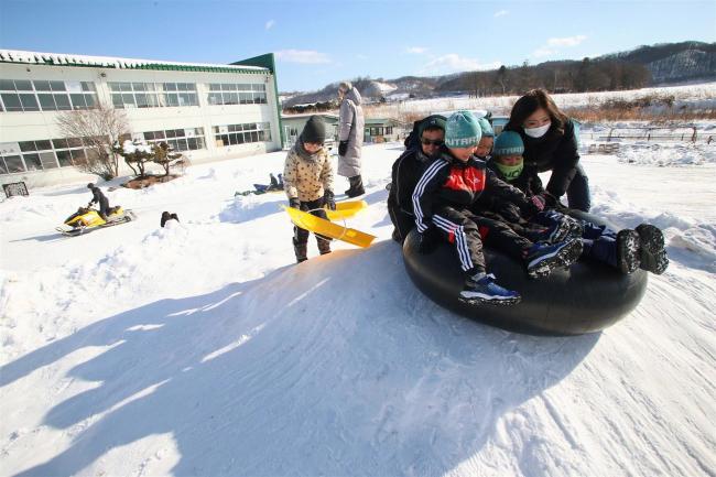 勇足小で冬を楽しむ体験授業 本別