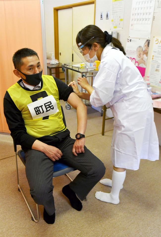 ワクチン接種のシミュレーションを実施 士幌