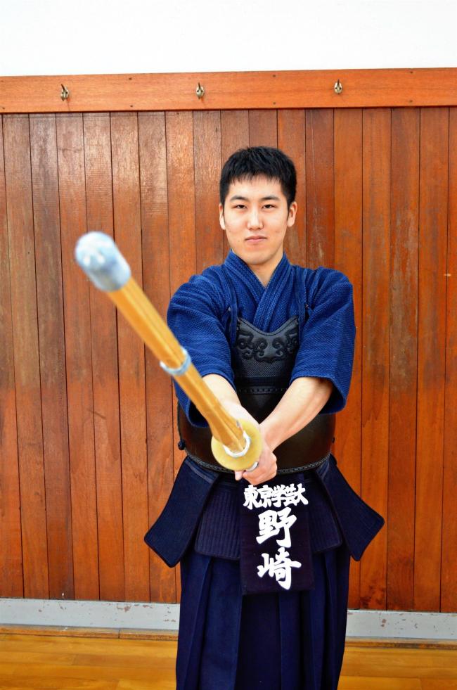 本別町出身の野崎将秀、剣道全日本選手権大会初出場へ闘志