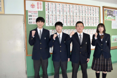 最後の卒業生102人全員の進路決定 江陵高校 3