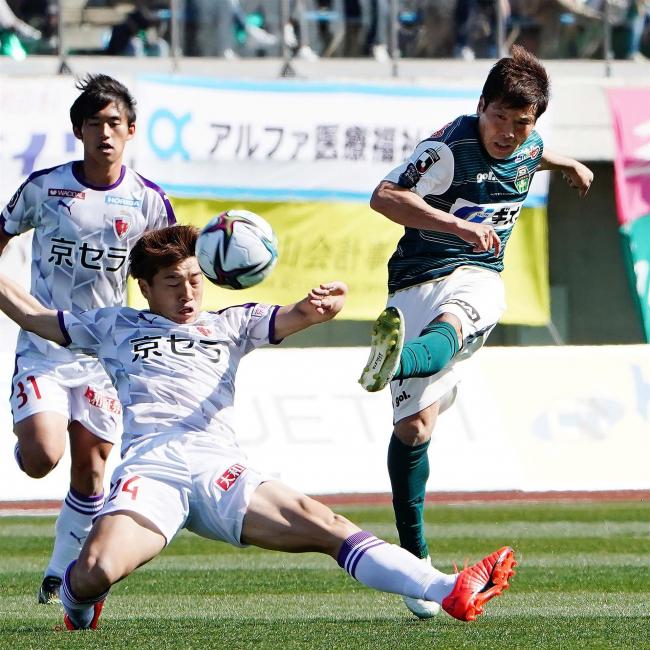 清原翔平は主将でフル出場、J2昇格の相模原開幕戦、京都に0―2敗れる
