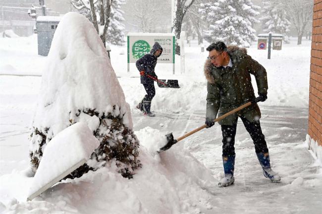 上士幌34センチ、帯広32センチ 大雪警報発令