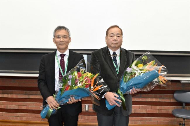 退官2教授が最終講義 帯広畜産大 辻、木田教授