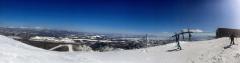 遠景近景 新得・サホロリゾートスキー場のパノラマ 3
