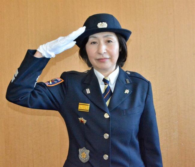 管内初の女性副団長任用 音更町消防団