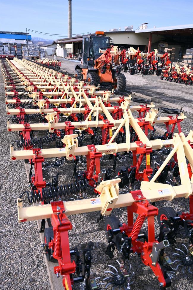 春作業が本番、管内農機メーカーで出荷がピーク