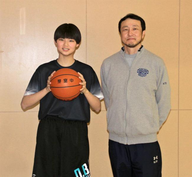 芽室中出の松本加恋、バスケ名門の桜花学園高に進学「将来は日本代表に」
