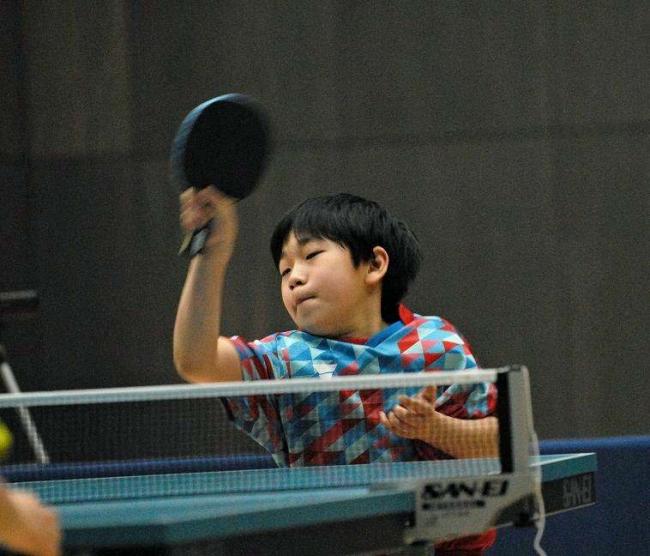 新津、石井V カブは小林、谷沿來、バンビは谷沿快 全十勝ホープスカブ卓球大会