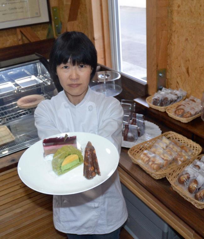 看護師からパティシエに 帯広の後藤さん、フランス菓子店「ラ・スーシュ」開業