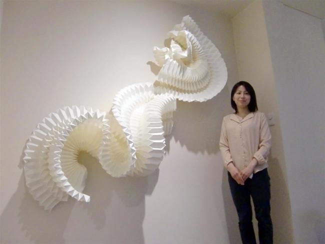 新作を主に15点 展示手法も多彩に 現代アートの加藤さん個展