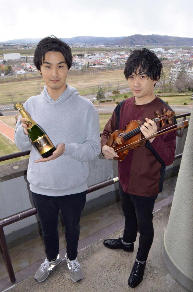 土曜夜に音楽とコース料理を 池田・ワイン城