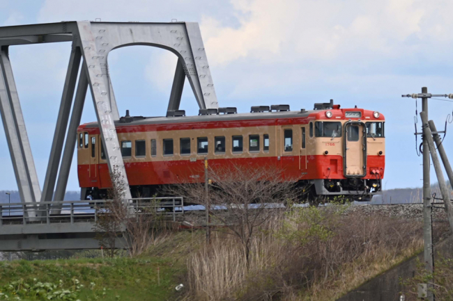 国鉄カラー 風を切る JR釧路管内 復活運行