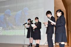 士幌高校の生徒による事例発表