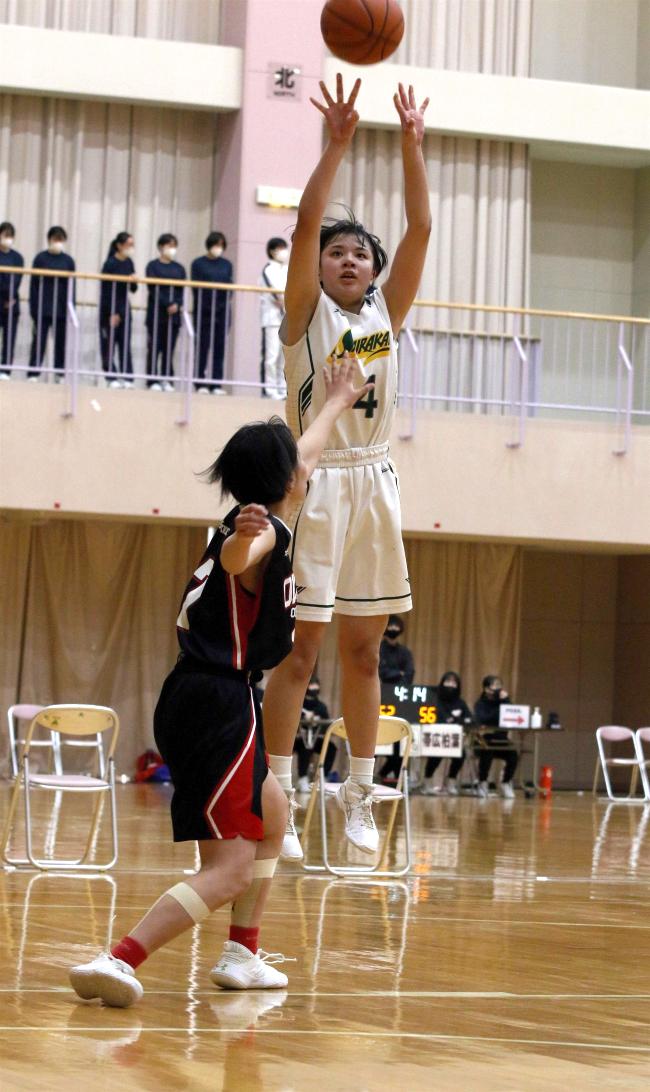 白樺学園男女V、創部3年の女子初の頂点 全十勝春季高校バスケットボール大会