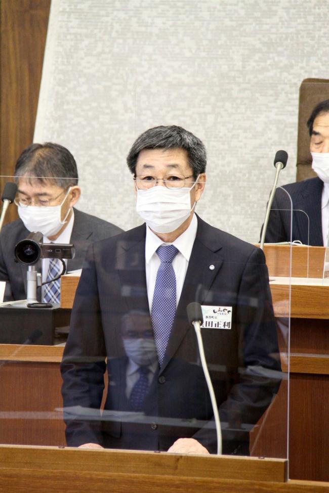 浜田氏が5選出馬を正式表明 新得町長選