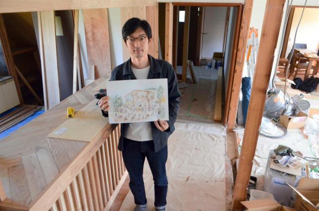 空き寮改修しゲストハウス開設へ 浦幌 リペリエンス