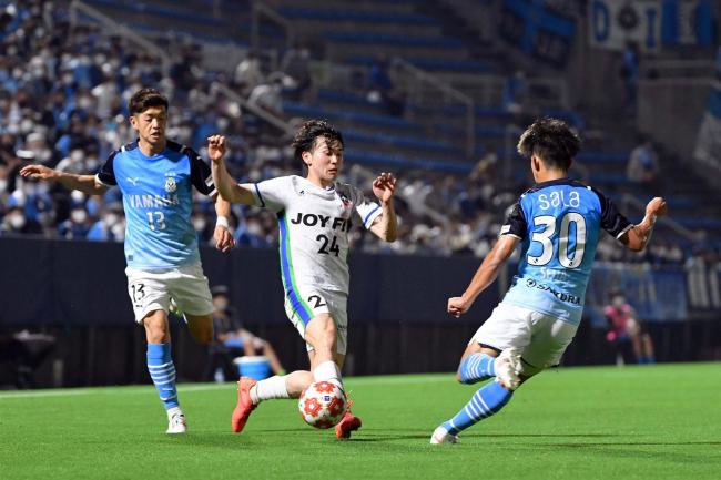 スカイアース前半健闘も0―3でJ2磐田に敗れる、サッカー天皇杯2回戦