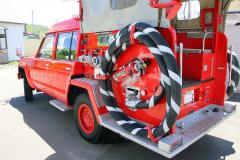消防車をマイカーに 新得 3