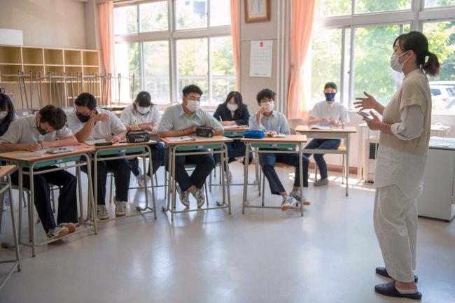幕別清陵高校で石澤志穂さん講演 幕別