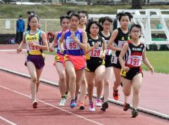 女子1500メートル2組