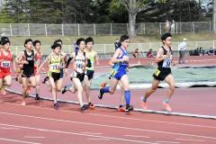 男子1500メートル6組