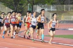 男子1500メートル7組