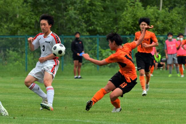 帯北男子7年ぶり全国に向け進撃開始まず8強、全道高体連サッカー