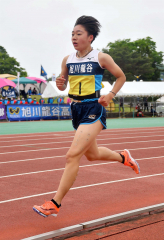 【女子3000メートル予選】足澤花南(旭川龍谷)