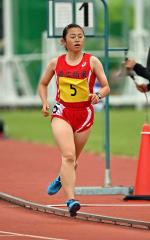 【女子3000メートル予選】小熊雛(帯柏葉)