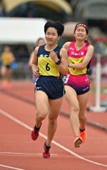【女子3000メートル予選】佐藤わかな(帯農)