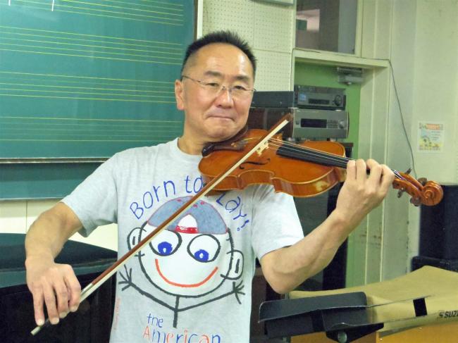 バイオリンの間口広げたい 帯広交響楽団の梅田さん 初心者教室を7月開講