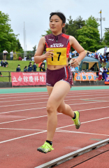 【女子七種競技・800メートル】青木麻耶(帯三条)