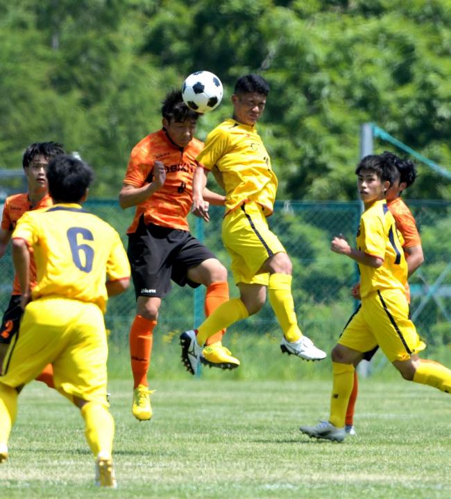 帯北男子惜敗糧に選手権へ闘志、女子はFW久野の道大谷室蘭V 全道高体連サッカー