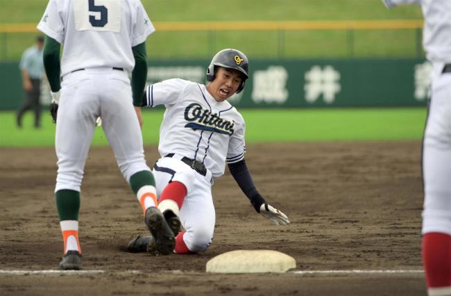 帯大谷14安打猛攻で代表に王手 夏の高校野球十勝支部予選