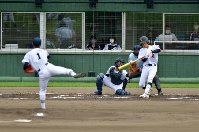 帯北追撃振り切り2大会連続の代表、5―3帯柏葉 高校野球十勝支部予選5日目