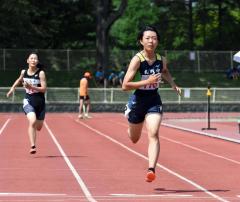 女子四種競技200メートル 小山紗世(札内)