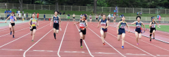 女子400メートルリレー決勝