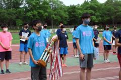 学校対抗男子総合優勝 札内