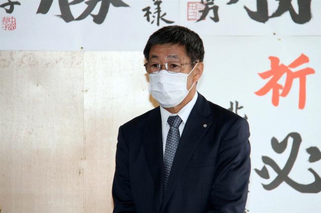 「先人の思いを次世代に」 浜田氏が事務所開き 新得町長選