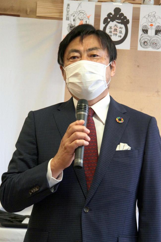 「世界に誇る本別をつくる」 編田氏が事務所開き 本別町長選