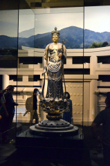 国宝の十一観音菩薩を堪能 聖林寺展 2