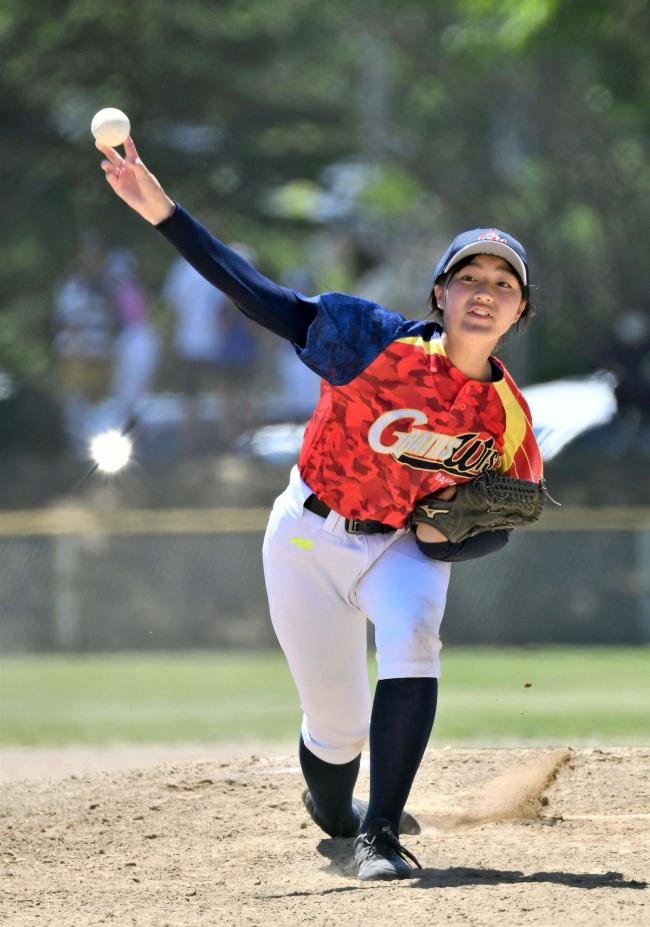中学女子野球、十勝のグラティアス初の公式戦惜敗 全日本中学女子軟式野球大会道予選会